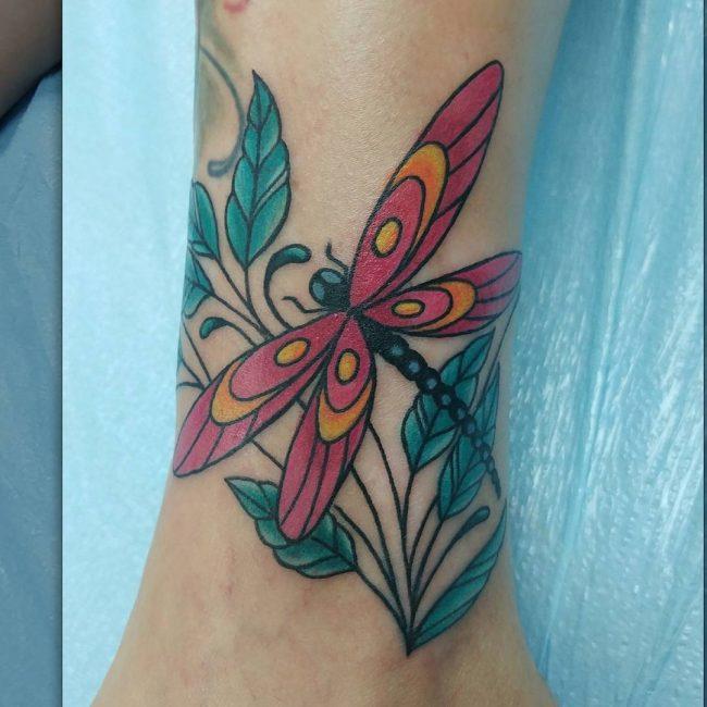 Dragonfly Tattoo 75