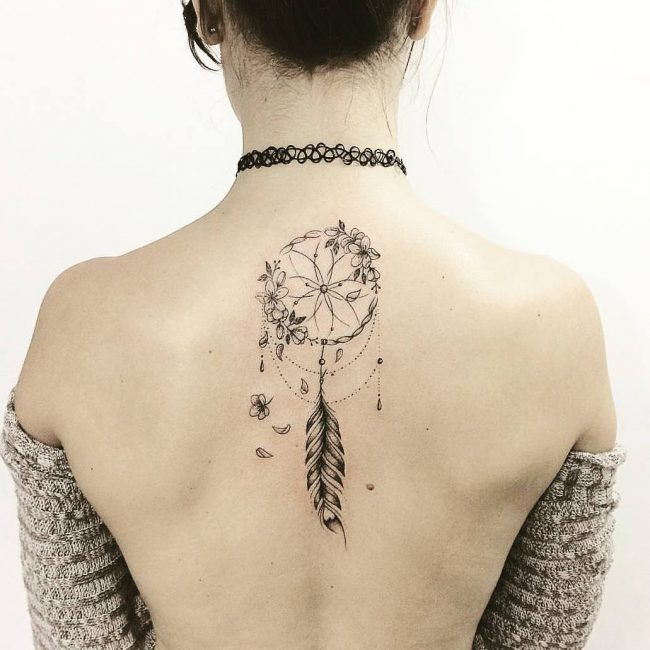 40 Best Dreamcatcher Tattoo Designs Meanings Dive Deeper 40 Beauteous Dream Catcher Tattoo For Guys