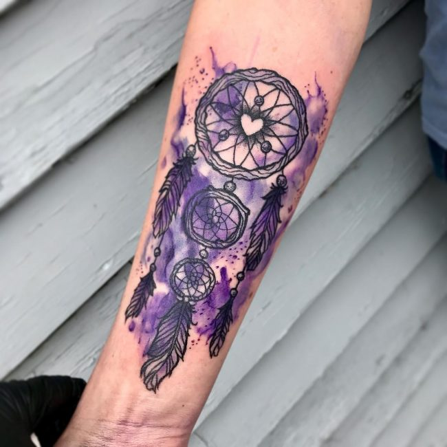 Dream Catcher Tattooes 40 Best Dreamcatcher Tattoo Designs Meanings Dive Deeper 40 20