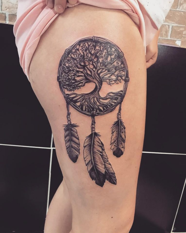 Dreamcatcher Tattoo 81