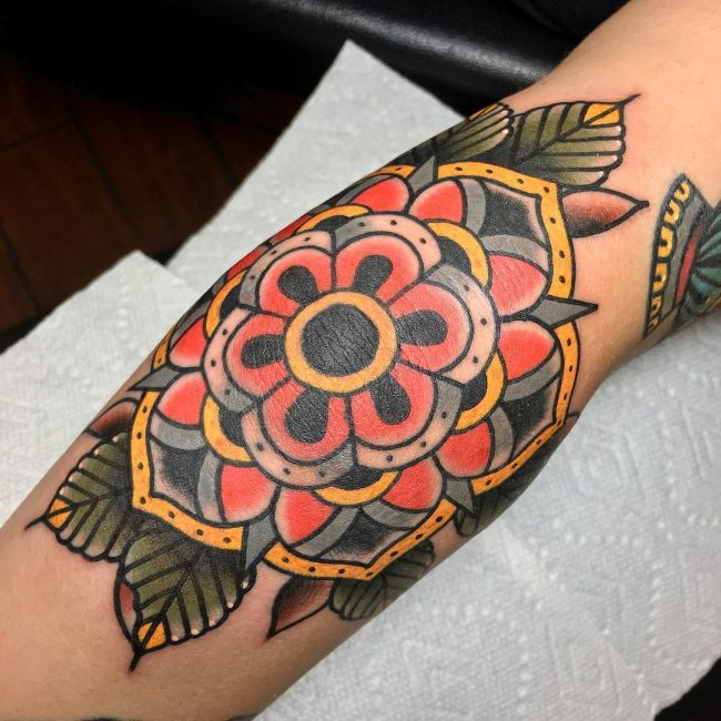 Elbow Tattoo 103