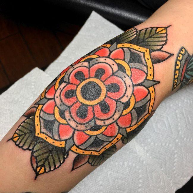 Elbow Tattoo 103