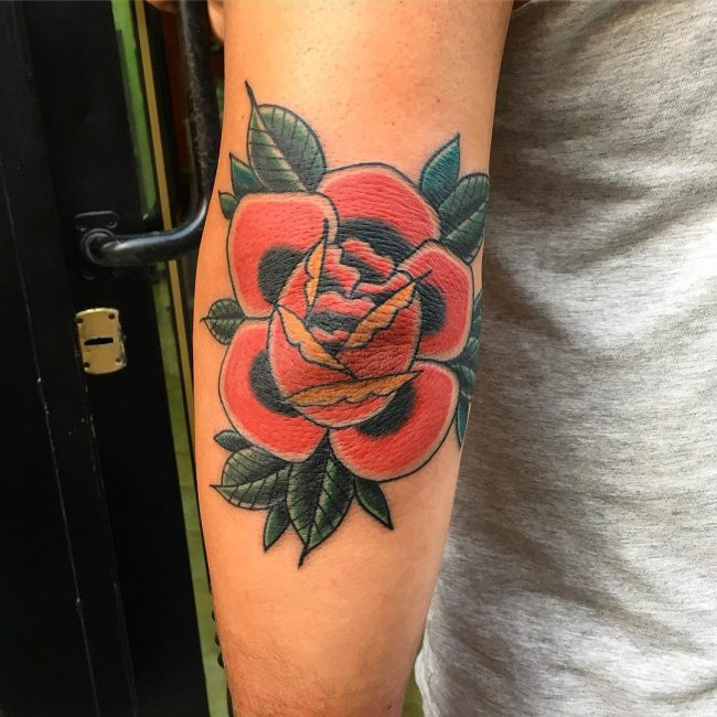 Elbow Tattoo 106
