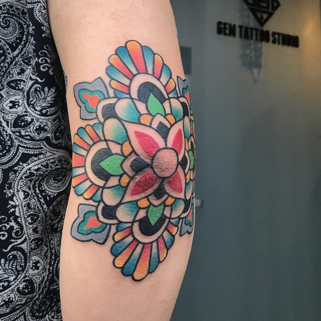 Elbow Tattoo 110