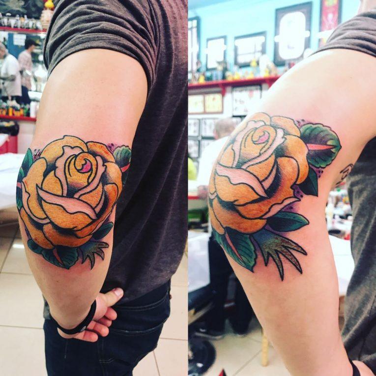Elbow Tattoo 114