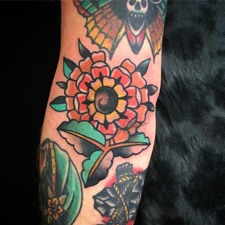 Elbow Tattoo 121
