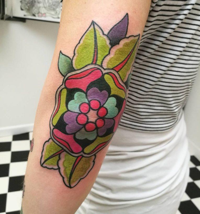 Elbow Tattoo 122