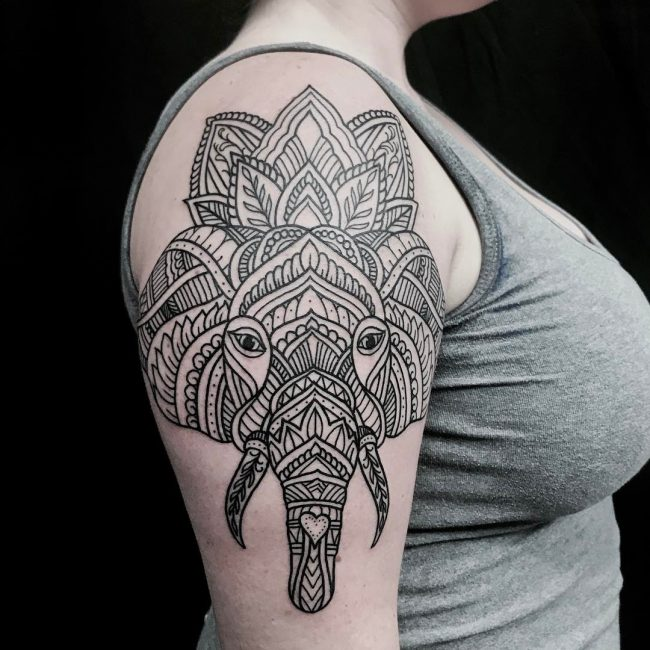 Elephant Tattoo 111