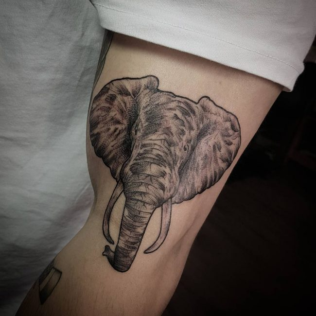 Elephant Tattoo 115
