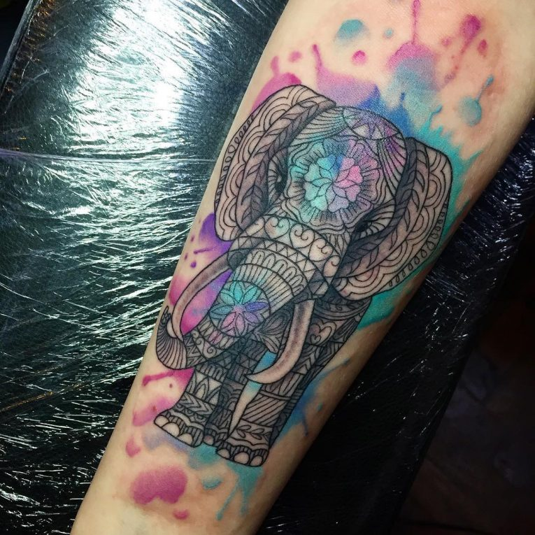 Elephant Tattoo 118