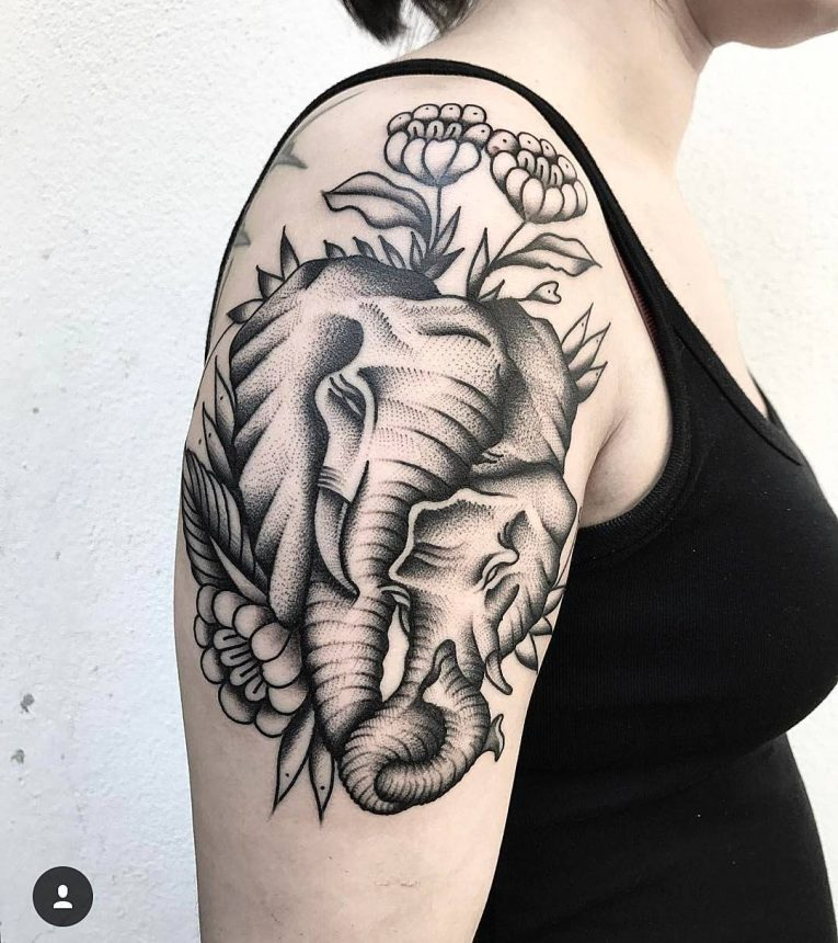 Elephant Tattoo 125