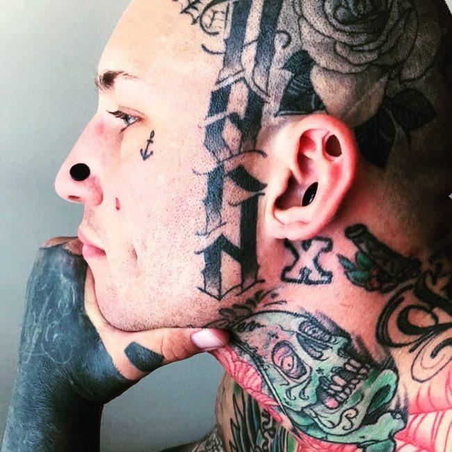 Face Tattoo 51