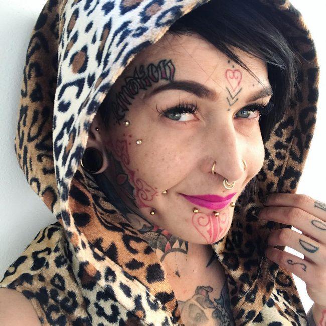Face Tattoo 54