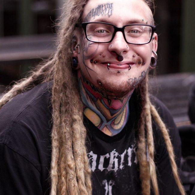 Face Tattoo 55