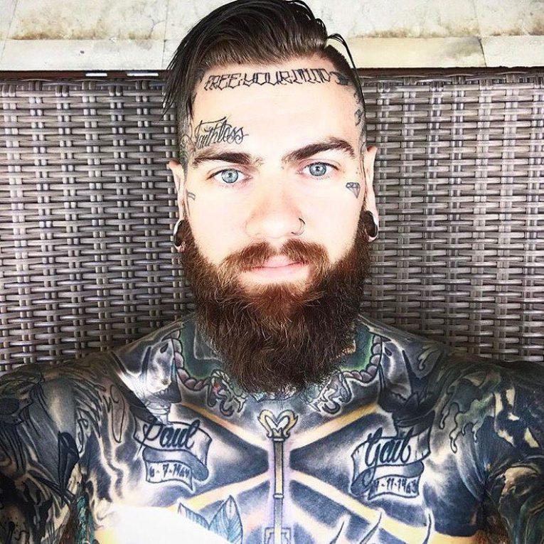 Face Tattoo 57