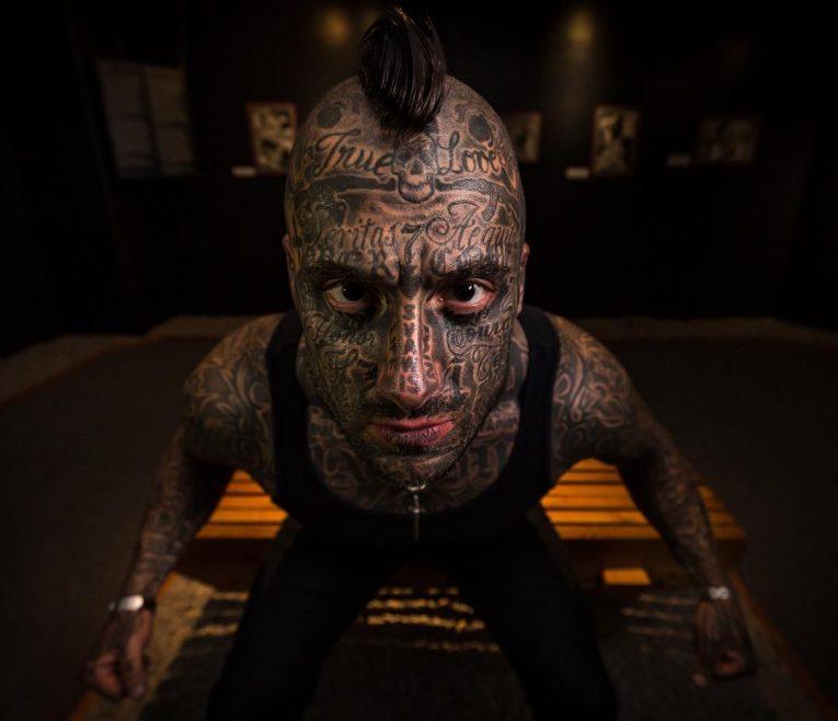 Face Tattoo 58