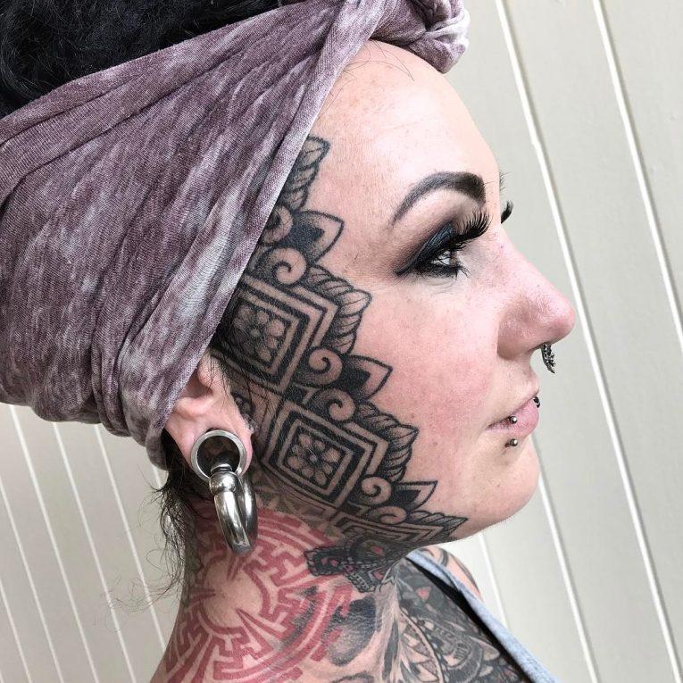 Face Tattoo 61