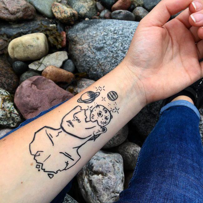 Fake Tattoo 69