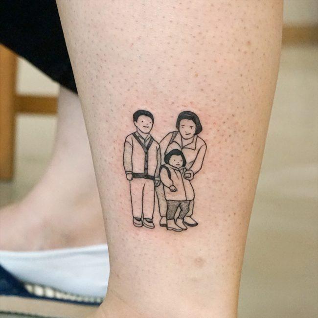 Family Tattoo 71