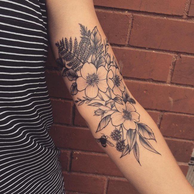 Floral Tattoo 101