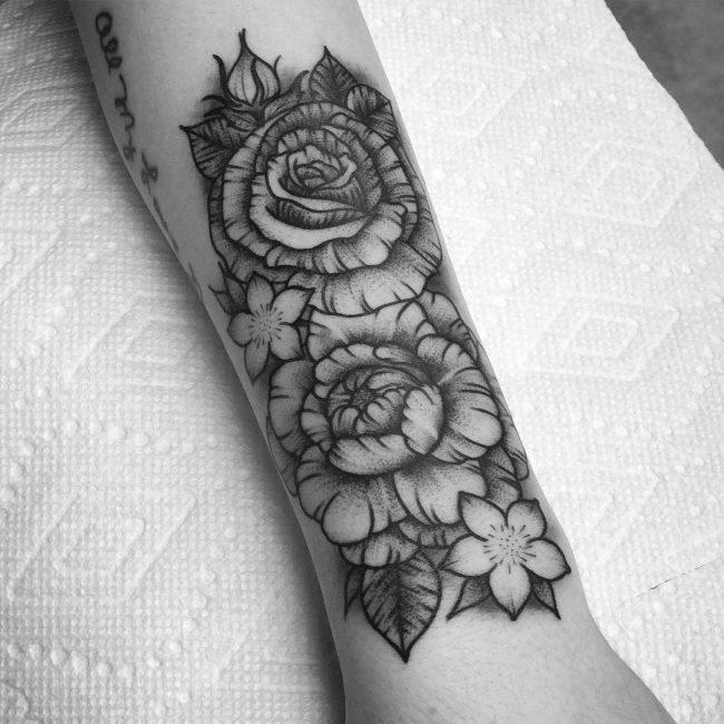 Floral Tattoo 102
