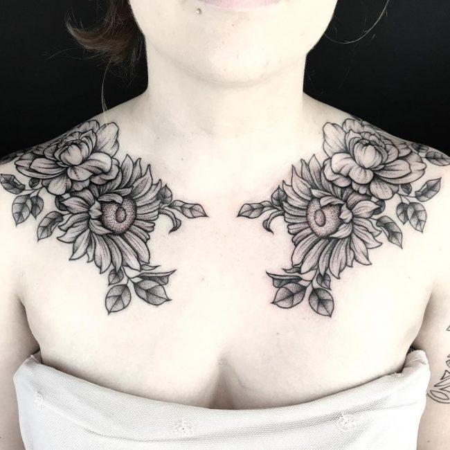 Floral Tattoo 103