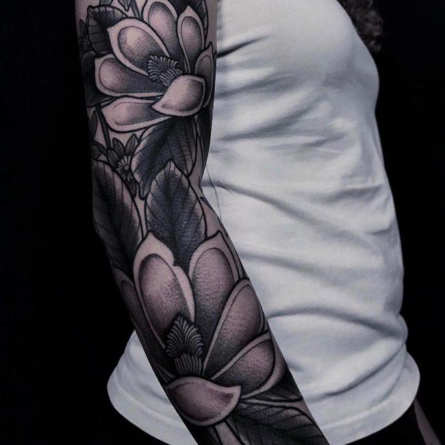 Floral Tattoo 106