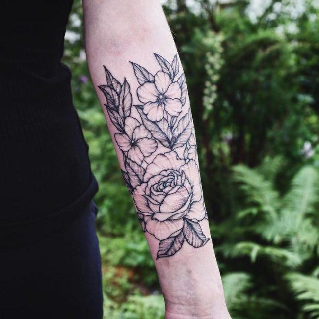 Floral Tattoo 107