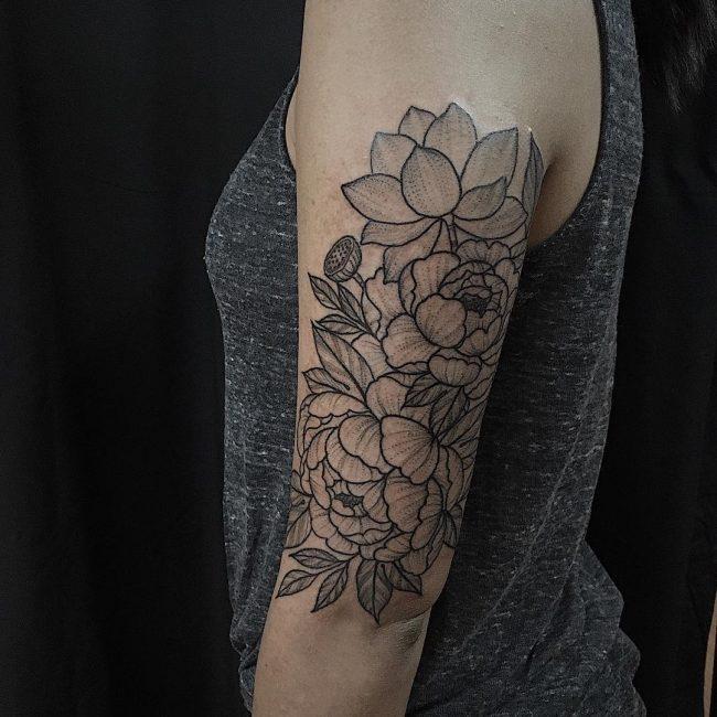 Floral Tattoo 108