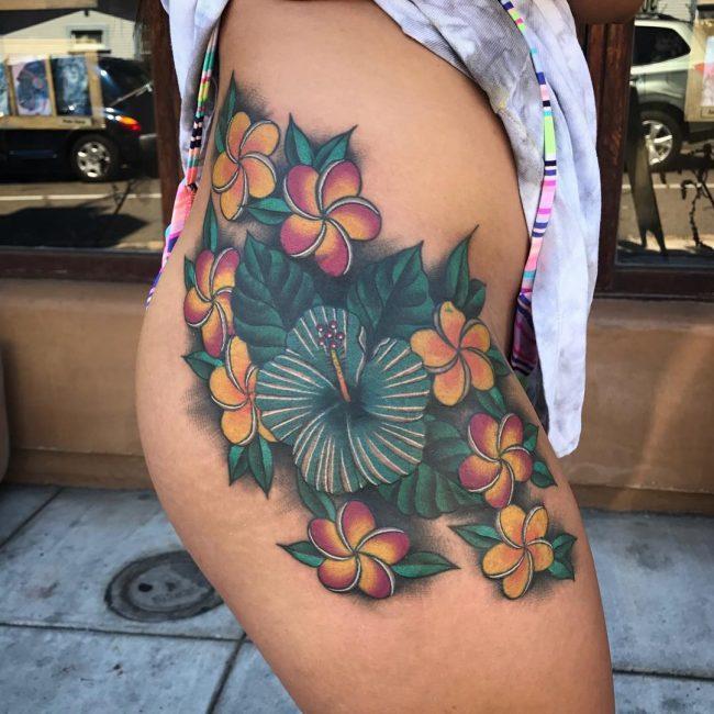 Floral Tattoo 109