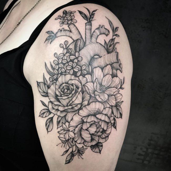 Floral Tattoo 110