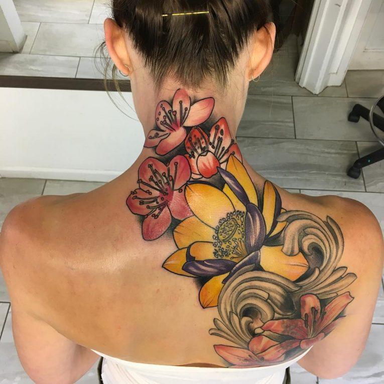 Floral Tattoo 111
