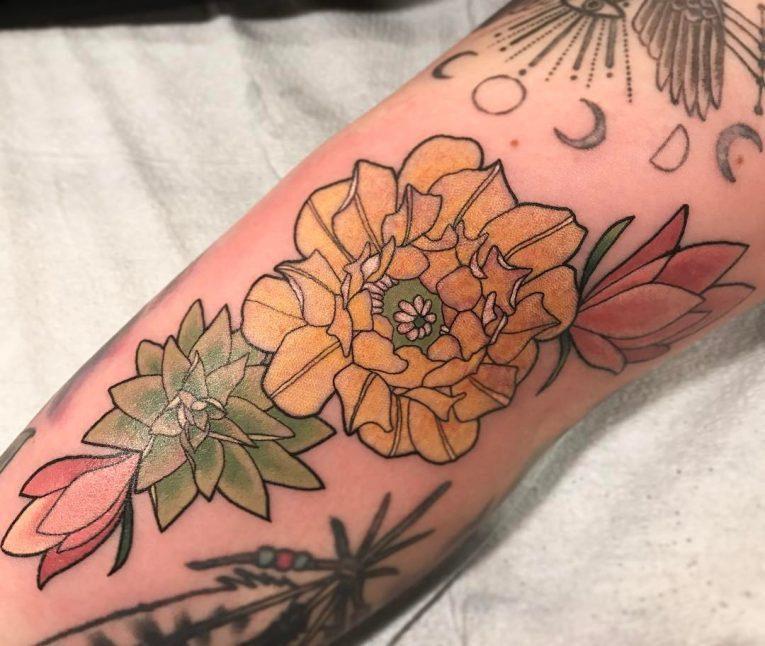 Floral Tattoo 112