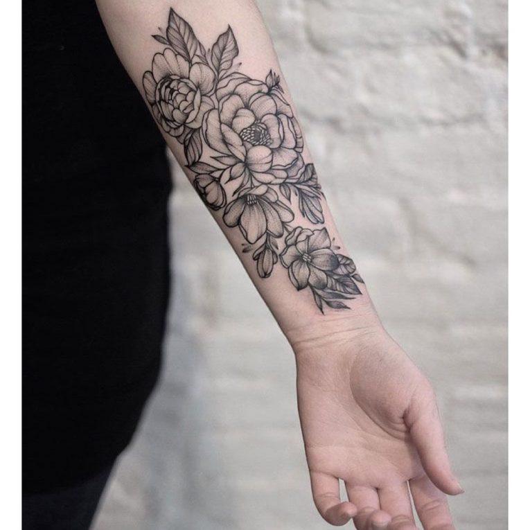 Floral Tattoo 113