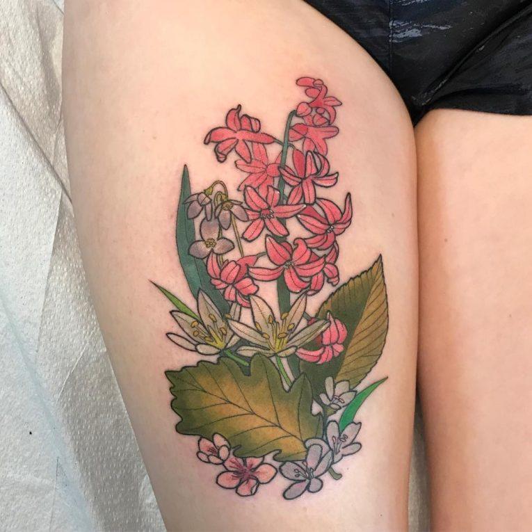 Floral Tattoo 114