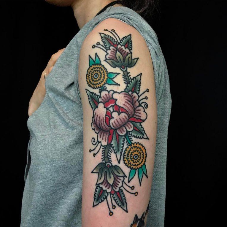 Floral Tattoo 116