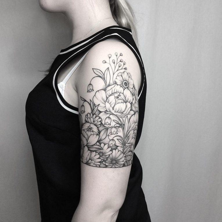 Floral Tattoo 118