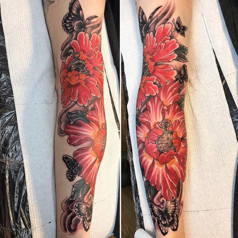 Floral Tattoo 119