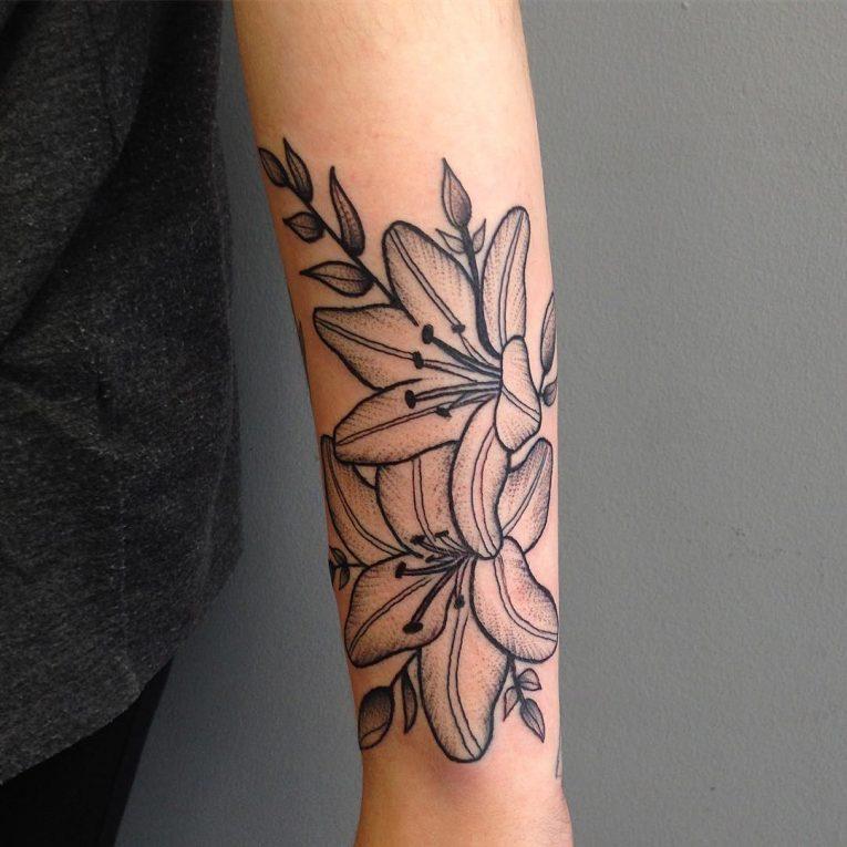 Floral Tattoo 120