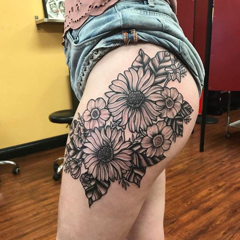 Floral Tattoo 121