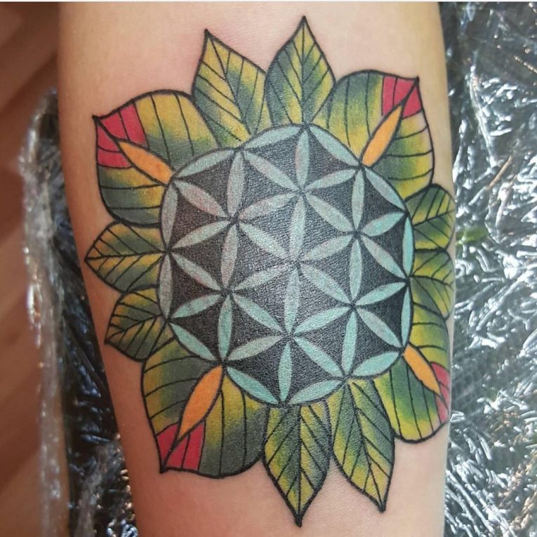 Flower of Life Tattoo 103