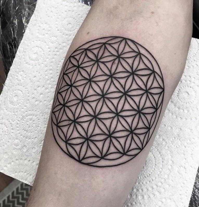 Flower of Life Tattoo 104