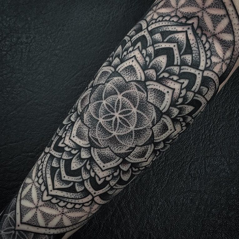 Flower of Life Tattoo 106
