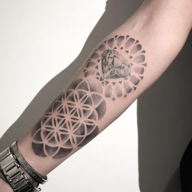 Flower of Life Tattoo 89