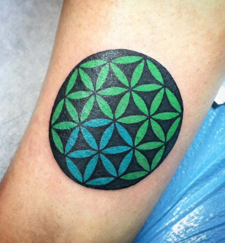 Flower of Life Tattoo 99