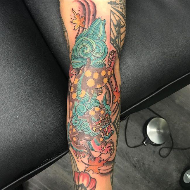 Foo Dog Tattoo 56