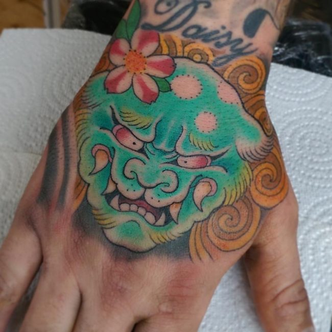 Foo Dog Tattoo 57
