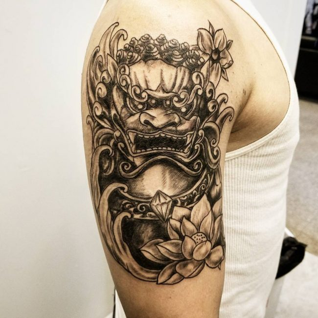 Foo Dog Tattoo 60