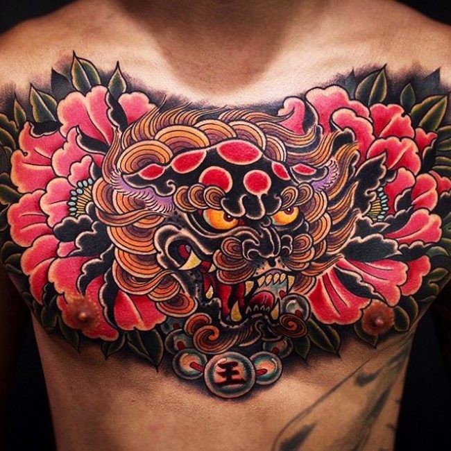 Foo Dog Tattoo 61