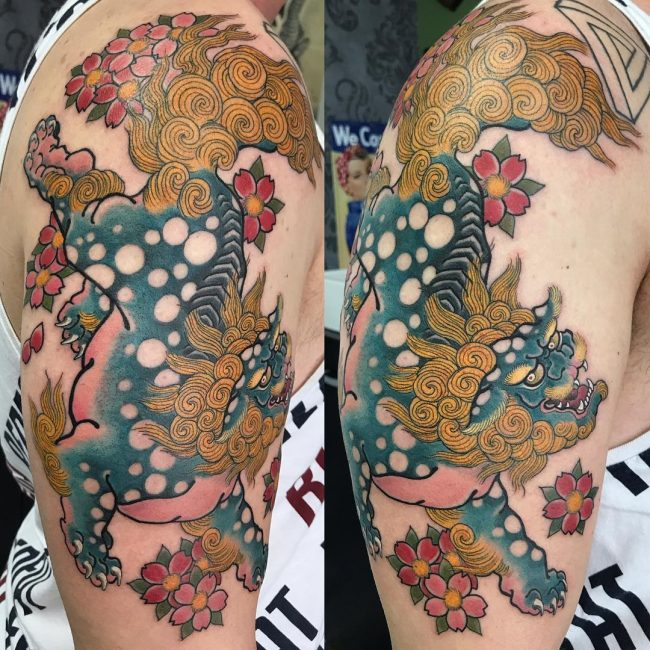 Foo Dog Tattoo 65